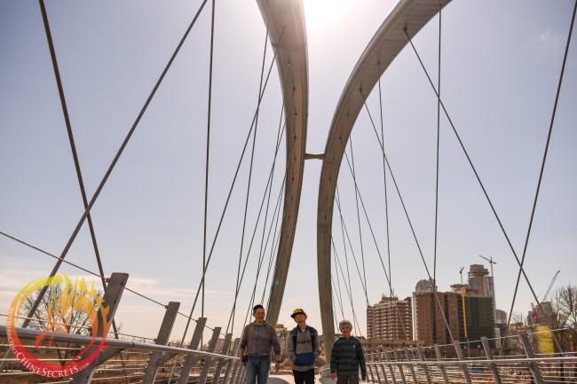 Cheung boyz on St. Patrick's bridge