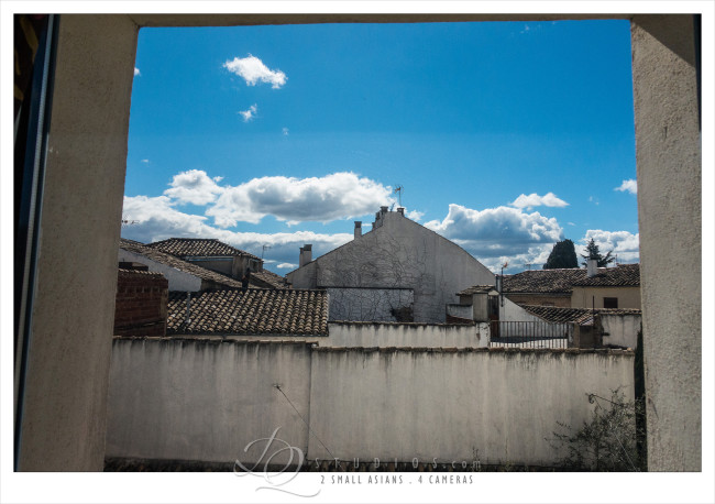 View from my room in Ubeda, Spain - Sony RX100M3 at ISO800, 1/2000 and f3.5