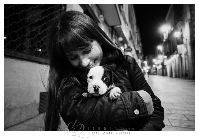 The cutest puppy in Ubeda, Spain - Sony RX100M3 at ISO2500, 1/160 and f1.8