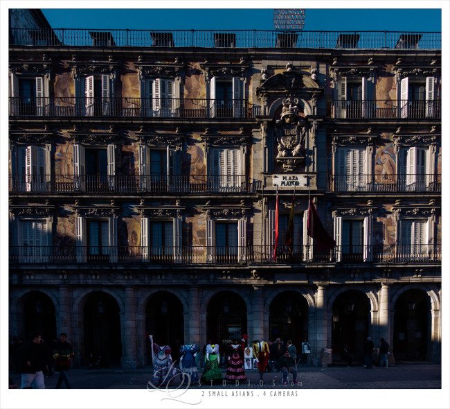 Plaza Mayor in Madrid, Spain - Sony RX100M3 at ISO200, 1/320 and f1.8