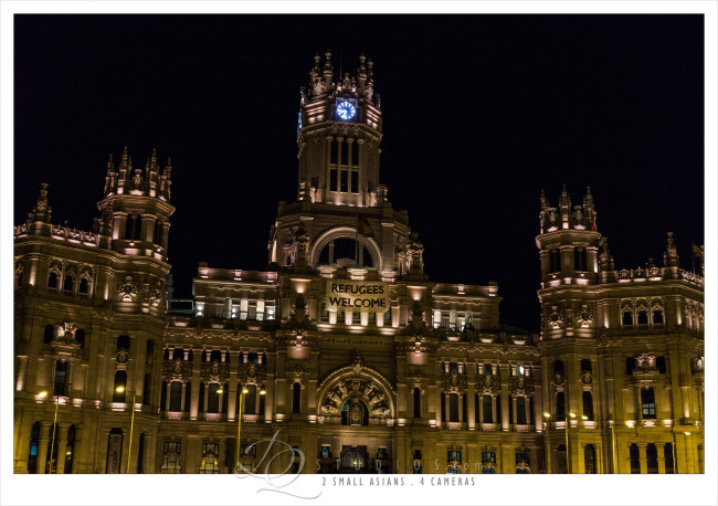the old post office. Madrid, Spain - Sony RX100M3 at ISO1600, 1/80 and f2.8