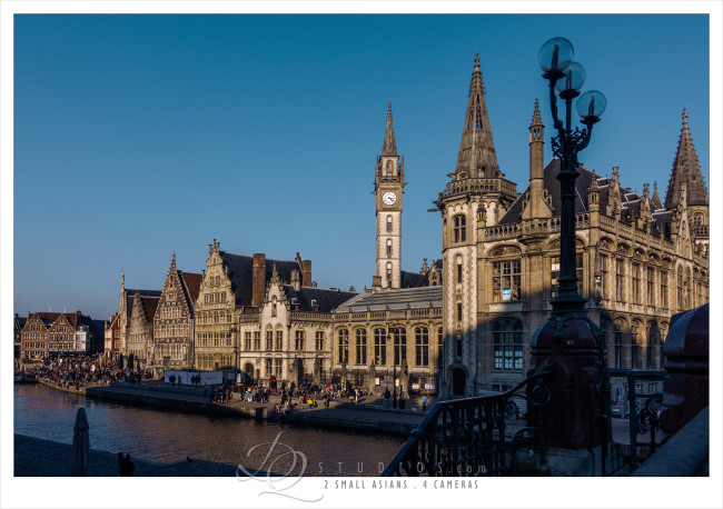 Ghent, Belgium - Sony RX100M3 at ISO100, 1/640 and f4