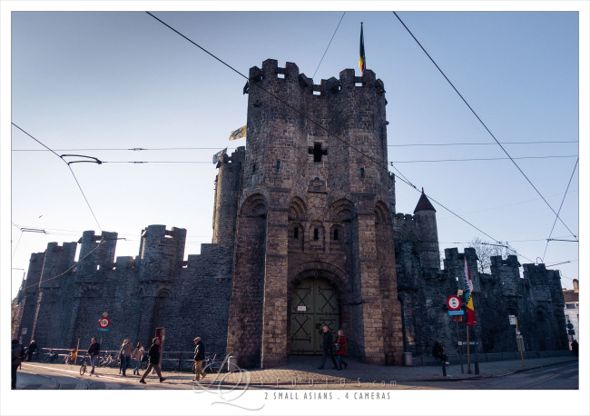 Medival Castle. Ghent, Belgium - Sony RX100M3 at ISO160, 1/1600 and f2.8