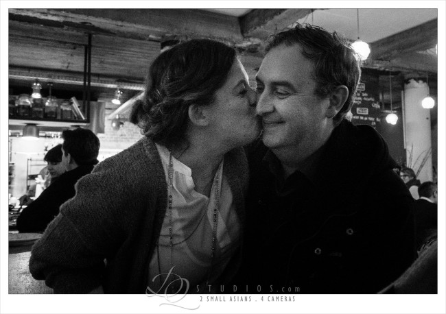 Birthday kiss. Ghent, Belgium - Sony RX100M3 at ISO2000, 1/60 and f2.2