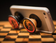 popsocket on chess board