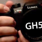 Handheld Panasonic GH5S Camera